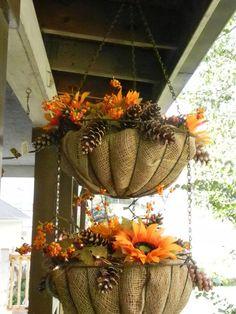 Hanging Fall Basket