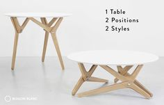 BOULON BLANC - The next generation of transformable tables by Boulon Blanc — Kickstarter