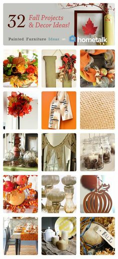 Fall Projects and Decor :: Carrie @ {P.F.I.}'s clipboard on Hometalk :: Hometalk