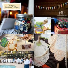 Adorbs. Love the bunting and the Bride to Bee favors!