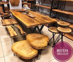 Masif Ahşap Mobilya Modelleri ile mekanınıza ayrıcalık katın. Kütük Ağaç Masa, Doğal Organik Sehpa, Kitaplık ve Tv Sehpası modelleri Mağazamızda
