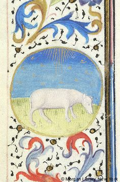 Book of Hours, MS M.28 fol. 3v - Images from Medieval and Renaissance Manuscripts - The Morgan Library & Museum