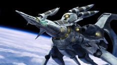 Alien Space Ship by on DeviantArt Alien Ship, Hummingbird Painting, Space Fighter, Sci Fi Novels, Space Battles, Real Time Strategy, Science Fiction Art, Video Game Art, Love Pictures