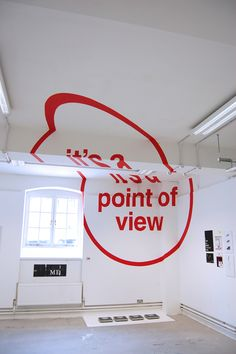 """JOSEPH EGAN X CHELSEA COLLEGE OF ART & DESIGN, ANAMORPHIC TYPOGRAPHY: """"to challenge the conventional idea that graphic design can only be realized in 2 dimensions."""" #joseph_egan #installation #typography"""