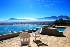 Helderberg Mountain and seaside view - www.somersetwest-homes.co.za Mountain View, Outdoor Furniture, Outdoor Decor, Sun Lounger, Seaside, Homes, Home Decor, Chaise Longue, Houses