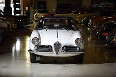 Autosport Studios shot a gorgeous white '58 Giulietta!