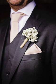 The Grooms navy three piece suit, crish white shirt and ivory tie & pocket square. Buttonhole of white gypsophila and string. Groomswear by Louis Copeland & Sons Reception: Borris House Photography by: Katie Kav Photography Pocket Square Rules, Tie And Pocket Square, Pocket Squares, House Photography, Wedding Photography, Navy Groom, Button Holes Wedding, Red Wing Boots, Men Photoshoot