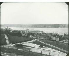 View from Halifax Citadel, Halifax, Nova Scotia, looking southeast Halifax Citadel, Nova Scotia