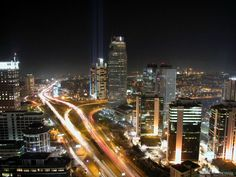 Levent district in Istanbul. Levent is one of the business centers in Istanbul, with headquarters of many companies. Visit Istanbul, Istanbul City, Places To Travel, Places To Go, Blue Mosque, Night Pictures, Travel Cards, Beautiful Places To Visit, Amazing Places