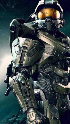 "Master Chief (Halo) or ""John S117"" is in effect a guardian for Earth. Defending humanity from the threat of the alien Covenant that seeks to complete its crusade to cleanse the galaxy.  John shows unparalleled bravery and skill in combat, able to accomplish many feats of strength that ordinary people couldn't, with a little luck as well."