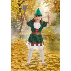 DisfracesMimo, disfraz de robin hook para niña varias tallas.Este comodísimo traje es perfecto para carnavales, espectáculos, cumpleaños. Este disfraz es ideal para tus fiestas temáticas de disfraces de famosos y cuentos para niñas infantiles