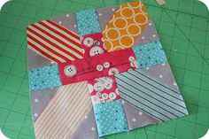 x and y block by Amy Badskirt blogged here http://badskirt.blogspot.com/#!/2011/04/japanese-x-and-scrappy-quilt-tutorial.html