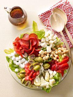 Quick, easy dinner recipe: Antipasto Salad