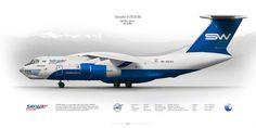 100%™ Ilyushin Il-76TD-90 | Russian Air