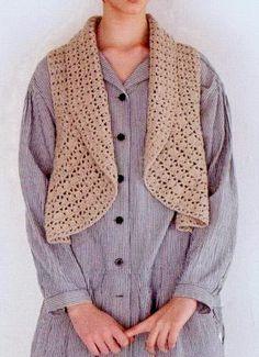 Crochet suéteres: modelos del ganchillo del Bolero maravilloso y un chaleco para…