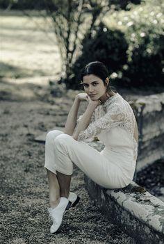 Laure de Sagazan colección vestidos de novia 2017 - combinado modelo Wagner