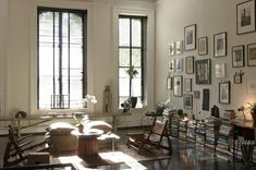 Scott Newkirk / An Afternoon With {eclectic industrial vintage modern loft} by recent settlers, via Flickr