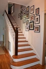 Nice traditional white and wood stairs. Staircase Wall Decor, Stair Decor, Wood Stairs, Stairway Carpet, Carpet Stairs, Carpet Runner, Stairways, Home Projects, Home Improvement