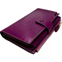 Obosoyo Women's Large Capacity Luxury Wax Genuine Leather Wallet With Zipper Pocket Pinkish Purple  BUY NOW     $129.99     Department:  Women  Brand:  Obosoyo  Material:  Top grain leather with oiled and waxed finish.  Top grain cowhide leather c ..  http://www.welovefashion.top/2017/03/10/obosoyo-womens-large-capacity-luxury-wax-genuine-leather-wallet-with-zipper-pocket-pinkish-purple/