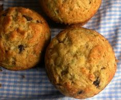 A Whisk and A Prayer: Coconut Chocolate Chip Nutella Zucchini Muffins
