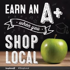 Spread the word to your back-to-school shoppers! #ShopLocal