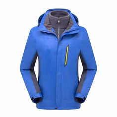 83.10$  Watch now - http://aliuv3.worldwells.pw/go.php?t=32757647219 - 3 In 1 Jackets Men Women Outdoor Camping Hiking Climbing Jacket Warm Sports Clothes Windstopper Waterproof Clothing Winter Coats 83.10$