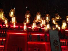 Lights at Asian Beer Cafe, Melbourne [rps]