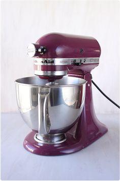 Robot pâtissier violet