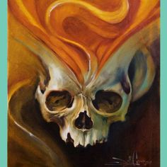 Painting by Tattoo Artist Jeff Gogue