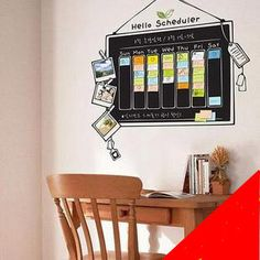 Blackboard vinyl decal sticker - ace idea!