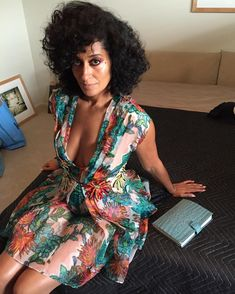 "Tracee Ellis Ross on Instagram: ""More @EssenceMag #BTS! Looooove this @Blumarine…"