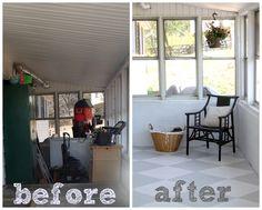 (4) Hometalk :: Painted Concrete Floor