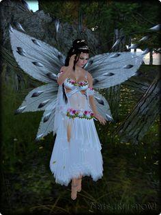 Faeline Fairy Wings - Natsuki (snow)