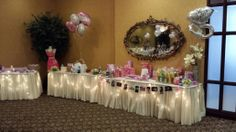 Many gift tables available for this special day!