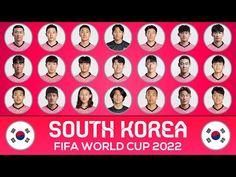 World Cup 2022, Fifa World Cup, South Korea, Squad, Korea, Classroom, Manga