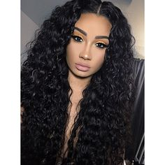 Curly Wigs, Long Curly Hair, Curly Hair Styles, Natural Hair Styles, Deep Curly, Long Curly Weave, Curly Short, Updo Styles, Big Hair