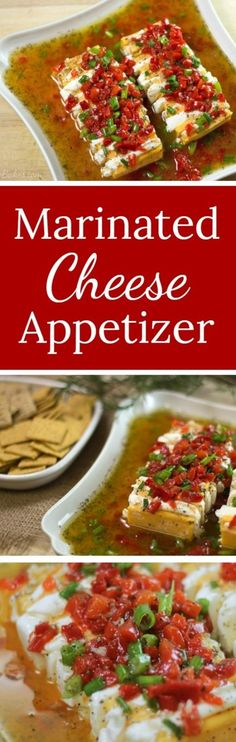 Marinated Cheese App