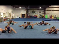 Partner Conditioning from Mary Lee Tracy Gymnastics Warm Ups, Gymnastics Games, Gymnastics Levels, Gymnastics Lessons, Gymnastics Routines, Preschool Gymnastics, Gymnastics Coaching, Gymnastics Training, Gymnastics Videos