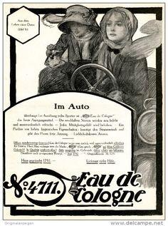 Original-Werbung/ Anzeige 1911 - 1/1 SEITE - 4711 - EAU DE COLOGNE - ca. 200 X 240 mm