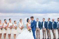 Photography: Ivy Road Wedding Photography - ivyroadphotography.com.au/    Read More on SMP: http://www.stylemepretty.com/australia-weddings/2015/08/14/elegant-colorful-beach-wedding/