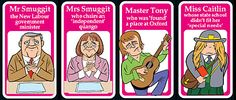 It's the charming parlour game from a gentler age, featuring Mr Bun The Baker and Mr Chalk The Teacher. But how would Happy Families look today? The Mail presents your very own version for 2007 right here
