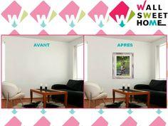 Poster adhésif mural personnalisé créé avec une photo personnelle et le smart|editor http://www.wallsweethome.fr/fr/deco-personnalisee/poster-adhesif/