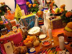 Altares del Día de Muertos en México