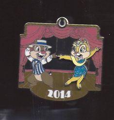 DISNEY CLARICE & DALE DANCING DAPPER DAYS 2014 GOLDEN HORSESHOE PIN LE 2000    eBay