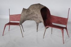 Causing quite a stir on the international design scene since his graduation from the Design Academy in Nacho Carbonell will be showing a selection of special works at Spazio Rossana Orlandi. Chair Design, Furniture Design, Design Room, Art Furniture, Atelier Theme, Weird Furniture, Design Creation, Love Chair, Art Institute Of Chicago