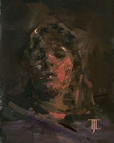 #painting #digitalart #face #artist #art #artwork #woman #eyes #dark #hot #artoftheday #darkbeauty #picture #illustration #beautiful #drawing #gallery #fear #night #brushes  #portrait
