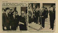 Winston Churchill's Life in Records