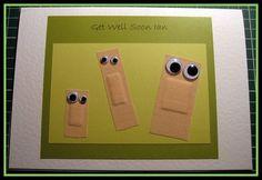 Si vas a visitar a un amigo a un hospital o tu sobrino se ha puesto malito, puedes mostrarle tus deseos de recuperación a través de una simpática tarjeta que le sonsacará una sonrisa.
