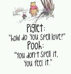 Piglet & Pooh:  love
