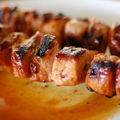 Pork tenderloin pieces. grilled.   joeshealthymeals.com